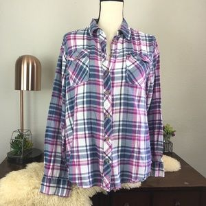 Urban Outfitters BDG cotton plaid button down